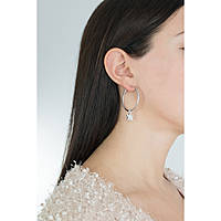 boucles d'oreille femme bijoux Guess Hoops I Did It Again UBE84055