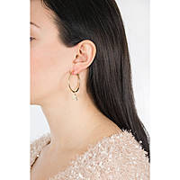 boucles d'oreille femme bijoux Guess Hoops I Did It Again UBE84056