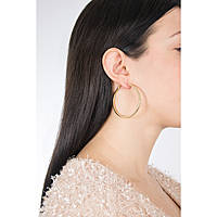 boucles d'oreille femme bijoux Guess Hoops I Did It Again UBE84074