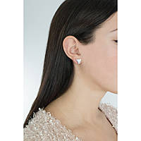 boucles d'oreille femme bijoux Guess Iconic 3Angles UBE83110
