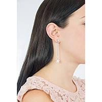 boucles d'oreille femme bijoux Guess Love Chain UBE84079