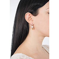 boucles d'oreille femme bijoux Guess Me & You UBE84116