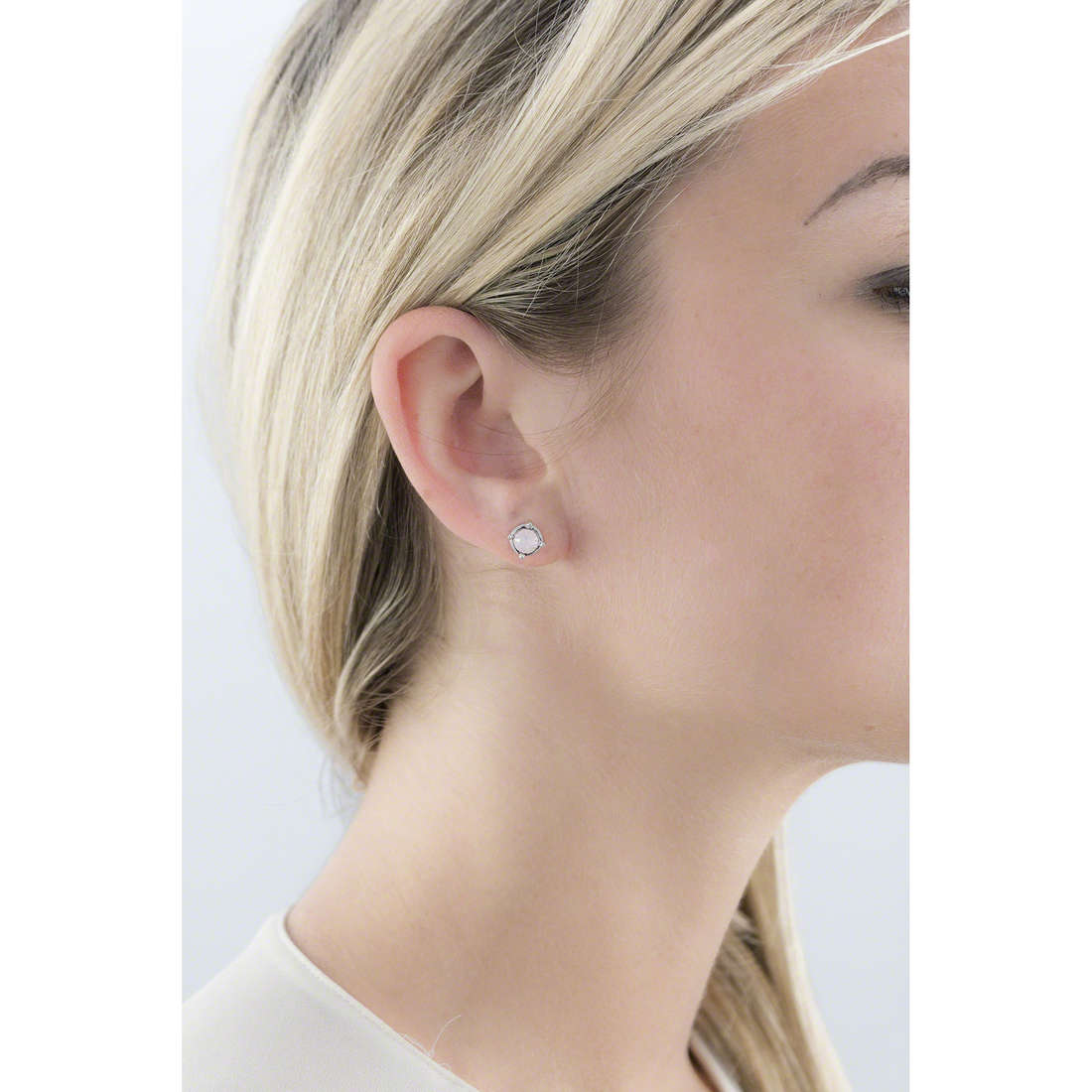 Guess boucles d'oreille My Feelings 4U femme UBE61036 indosso