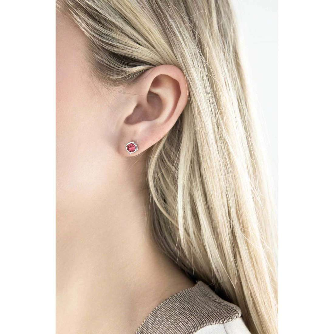 Guess boucles d'oreille My Feelings 4U femme UBE61077 indosso