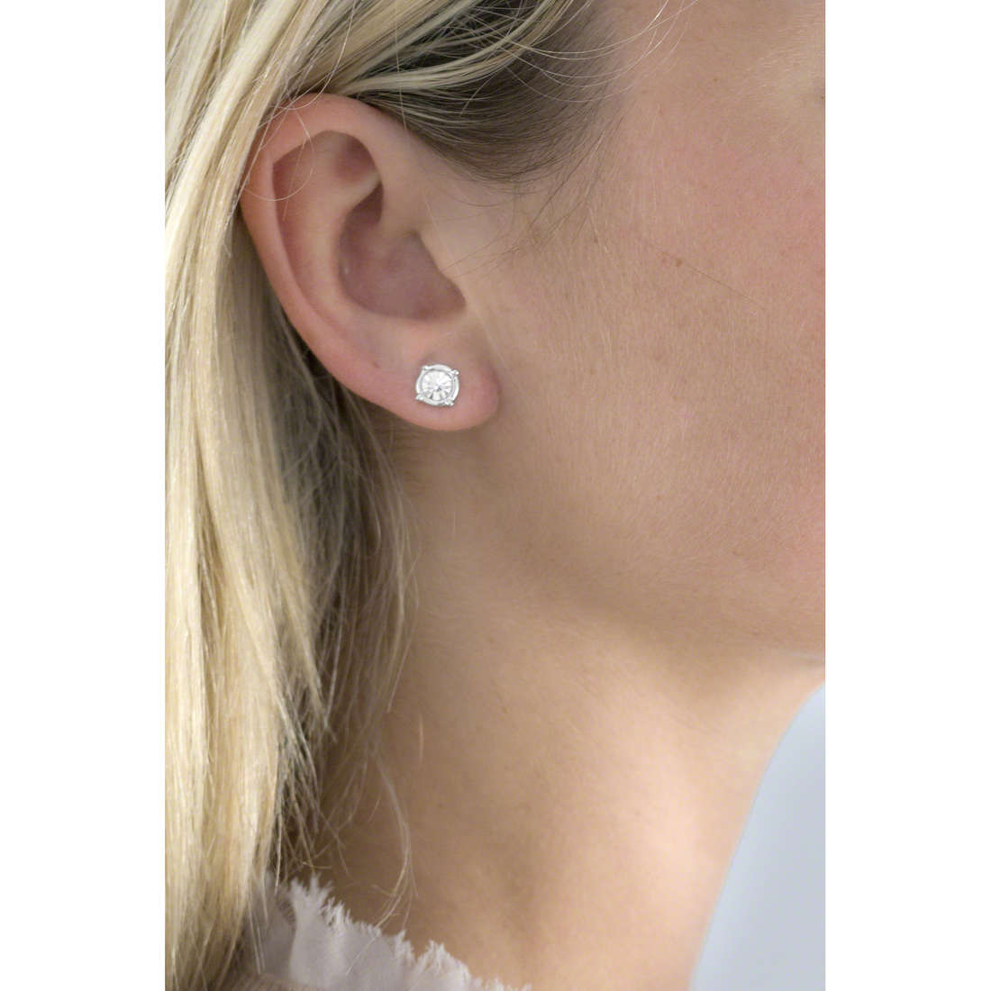 Guess boucles d'oreille My Feelings 4U femme UBE61078 indosso