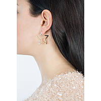 boucles d'oreille femme bijoux Guess Starlicious UBE84016