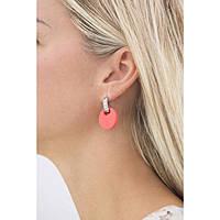 boucles d'oreille femme bijoux Hip Hop Bon Ton HJ0207