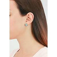 boucles d'oreille femme bijoux Hip Hop HJ0123