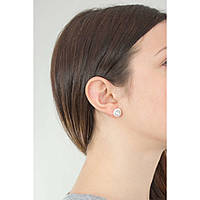 boucles d'oreille femme bijoux Hip Hop Little Star HJ0289
