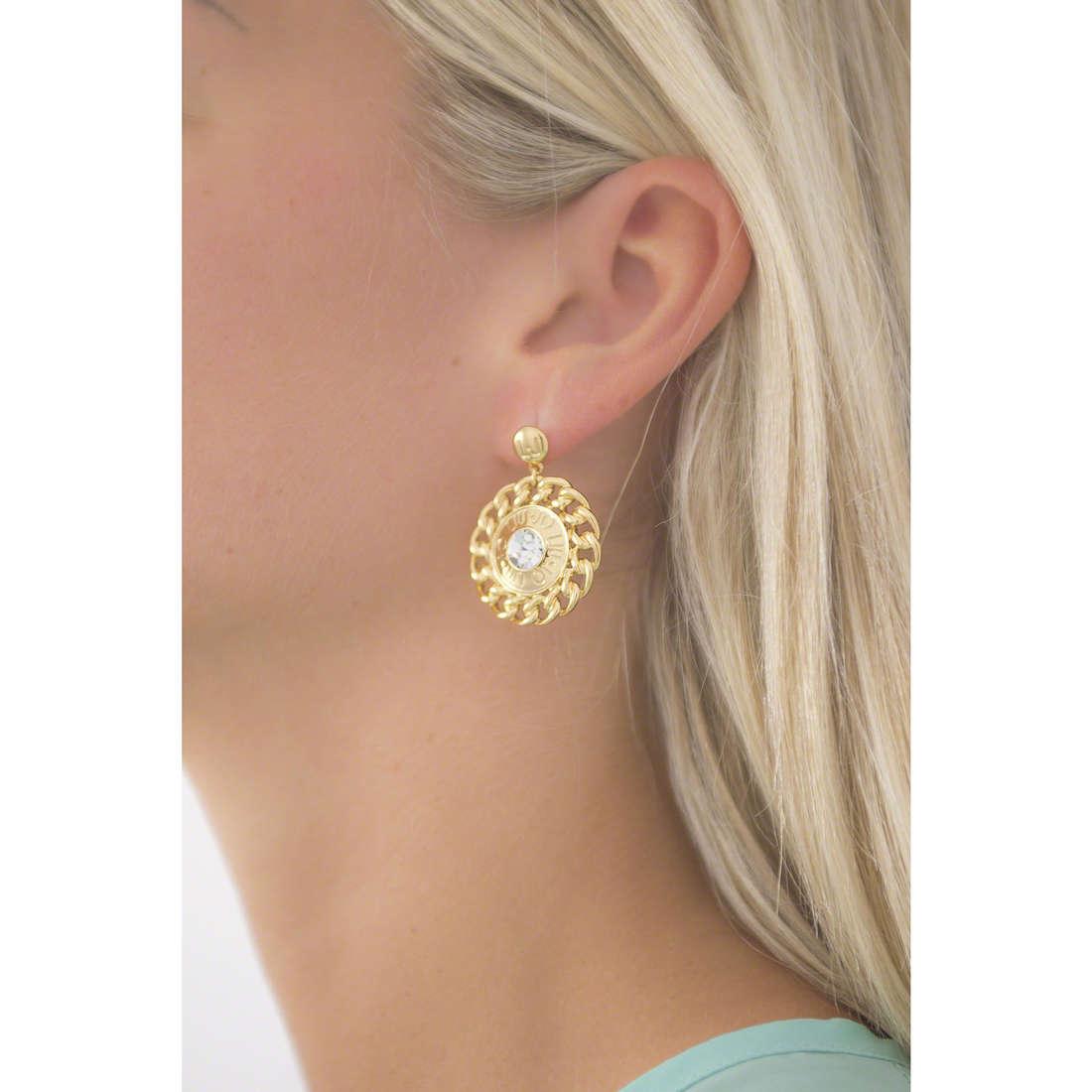 Liujo boucles d'oreille Dolceamara femme LJ900 indosso