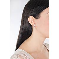 boucles d'oreille femme bijoux Luca Barra Be Happy OK874