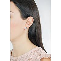 boucles d'oreille femme bijoux Luca Barra Be Happy OK886