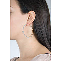 boucles d'oreille femme bijoux Luca Barra Pretty Moment LBOK865