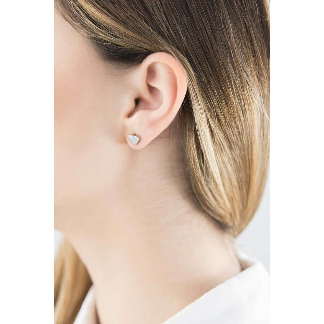 Marlù boucles d'oreille My Luck femme 18OR003 indosso