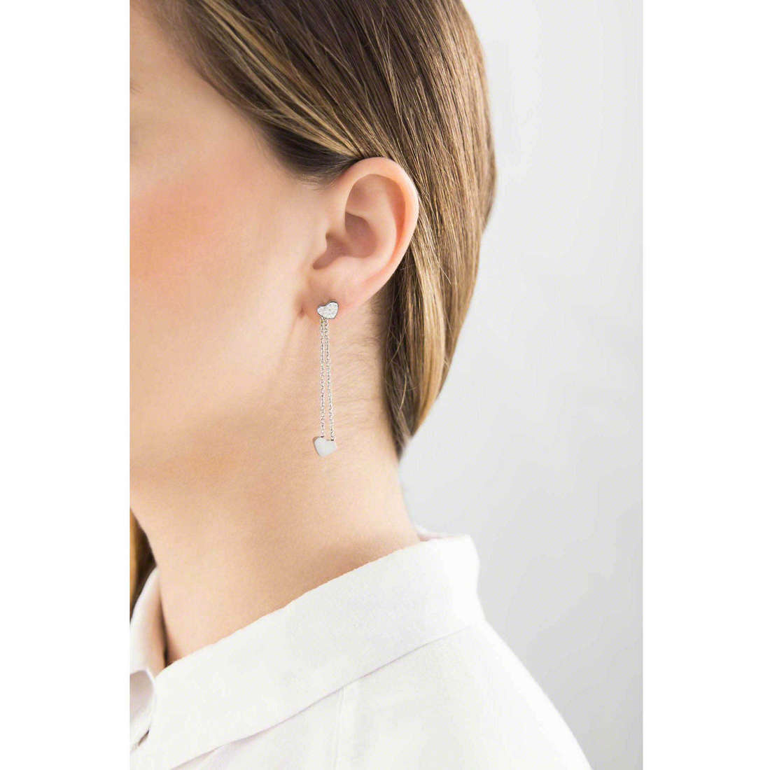 Marlù boucles d'oreille My Luck femme 18OR023 indosso
