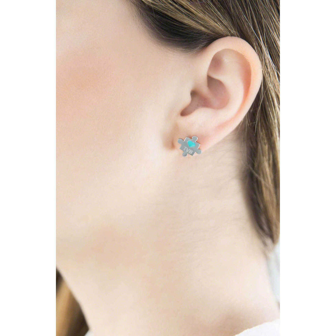 Marlù boucles d'oreille My World femme 18OR019 indosso