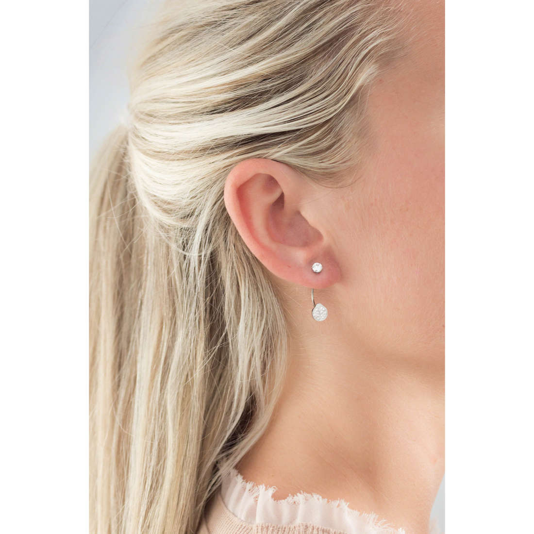Marlù boucles d'oreille Time To femme 18OR036 indosso