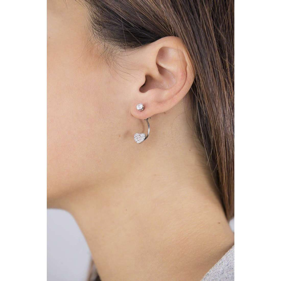 Marlù boucles d'oreille Time To femme 18OR038 indosso