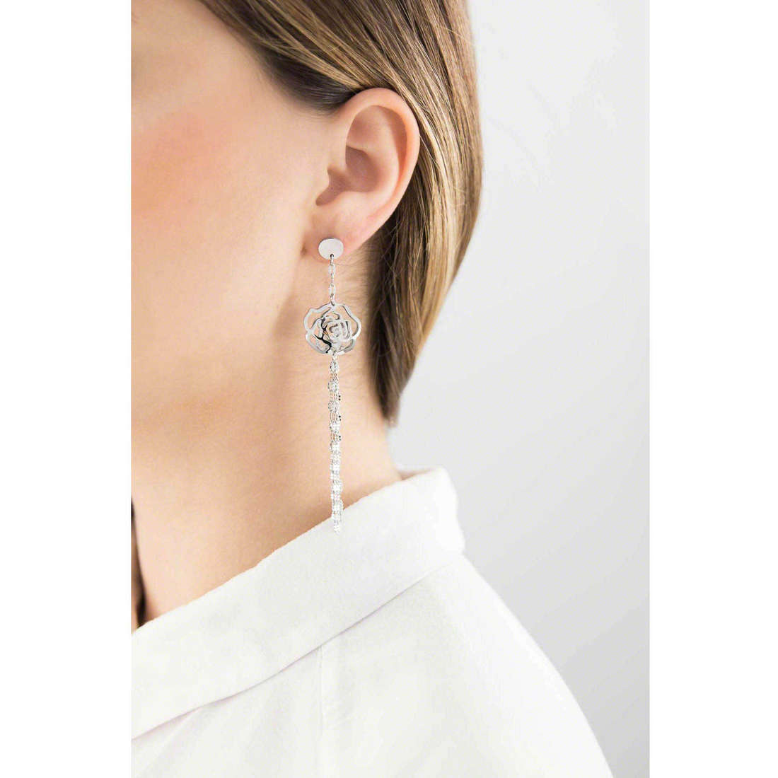 Marlù boucles d'oreille Woman Chic femme 2OR0026 indosso