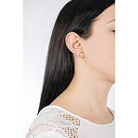 boucles d'oreille femme bijoux Michael Kors Logo MKJ6812791