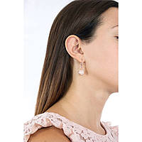 boucles d'oreille femme bijoux Michael Kors Logo MKJ6815791