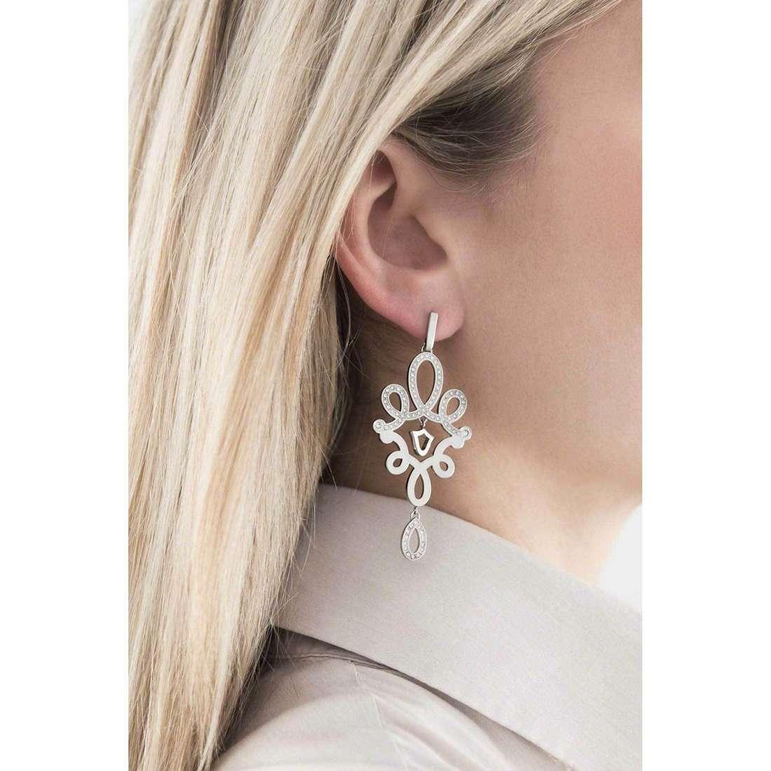 Morellato boucles d'oreille Arabesco femme SAAJ19 indosso