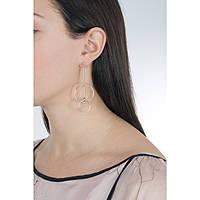 boucles d'oreille femme bijoux Morellato Cerchi SAKM13