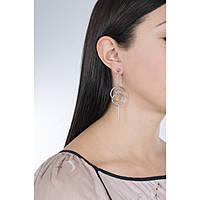 boucles d'oreille femme bijoux Morellato Cerchi SAKM14