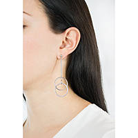 boucles d'oreille femme bijoux Morellato Cerchi SAKM15