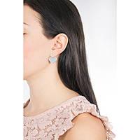 boucles d'oreille femme bijoux Morellato Cuori SAIV05