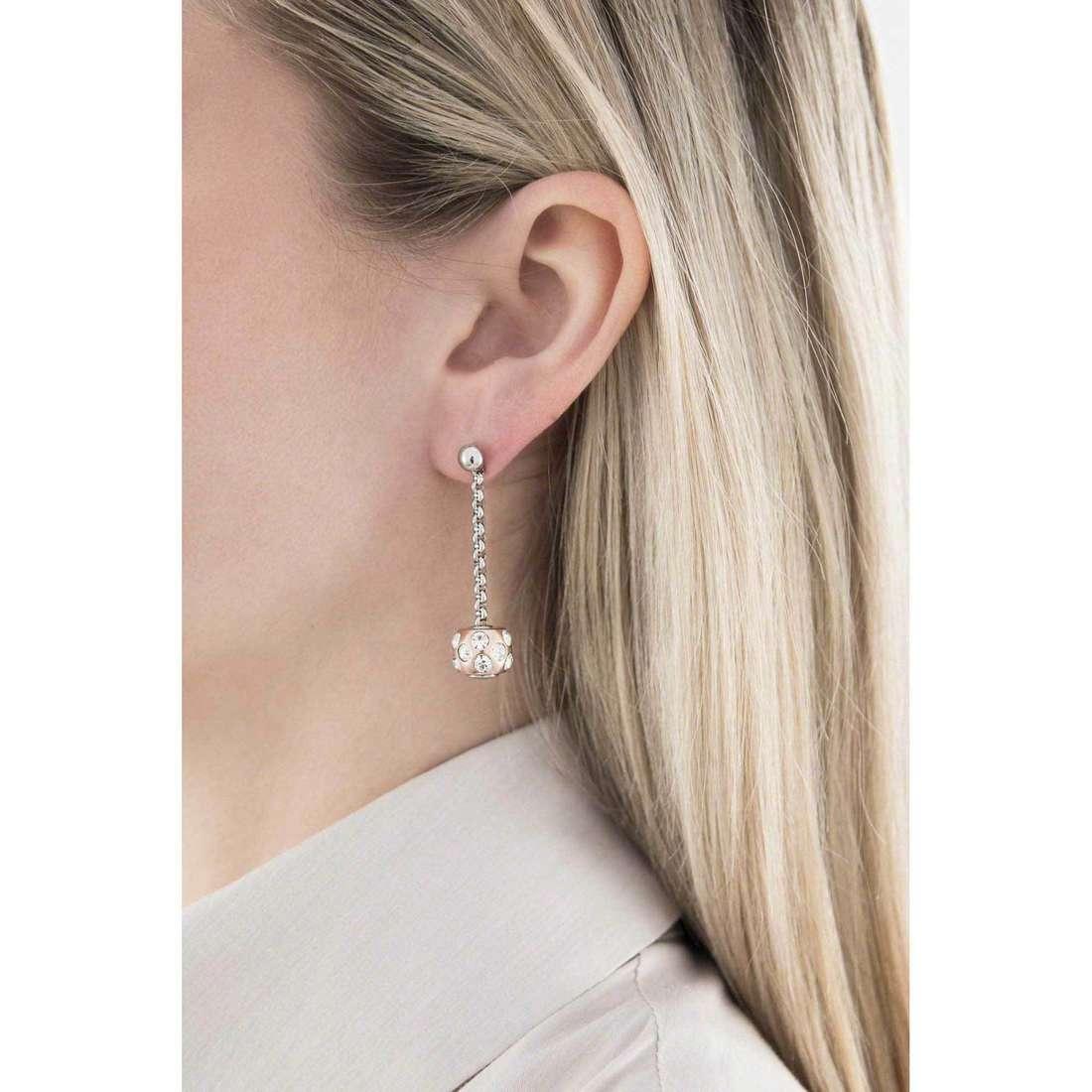 Morellato boucles d'oreille Drops femme SCZ413 indosso