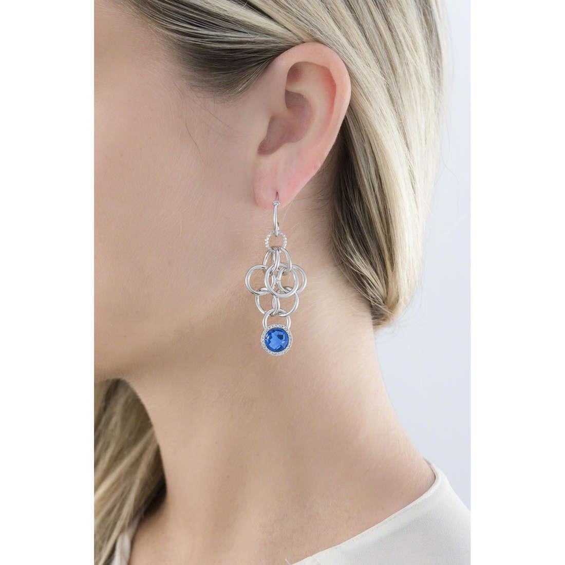 Morellato boucles d'oreille Essenza femme SAGX05 indosso