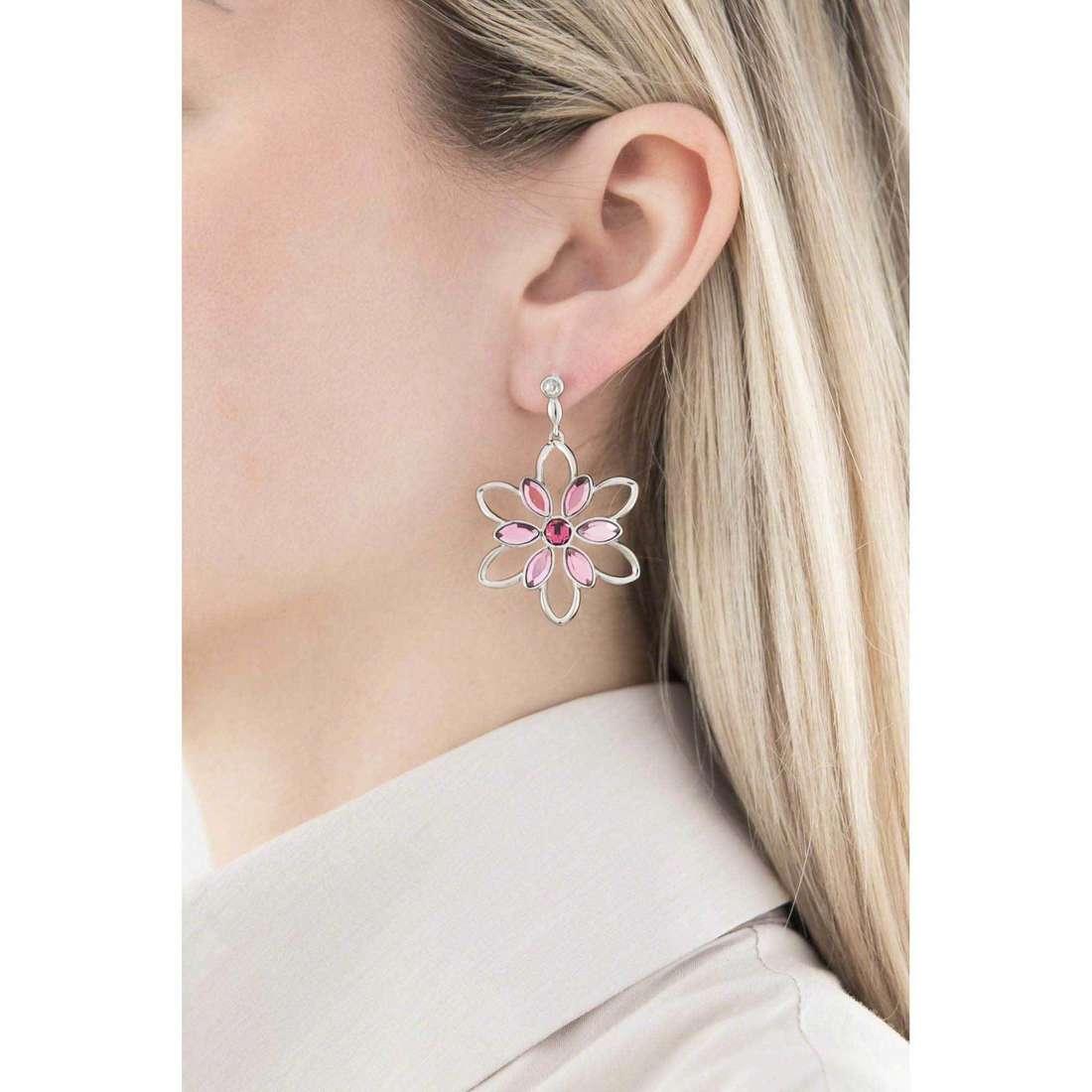 Morellato boucles d'oreille Fioremio femme SABK12 indosso