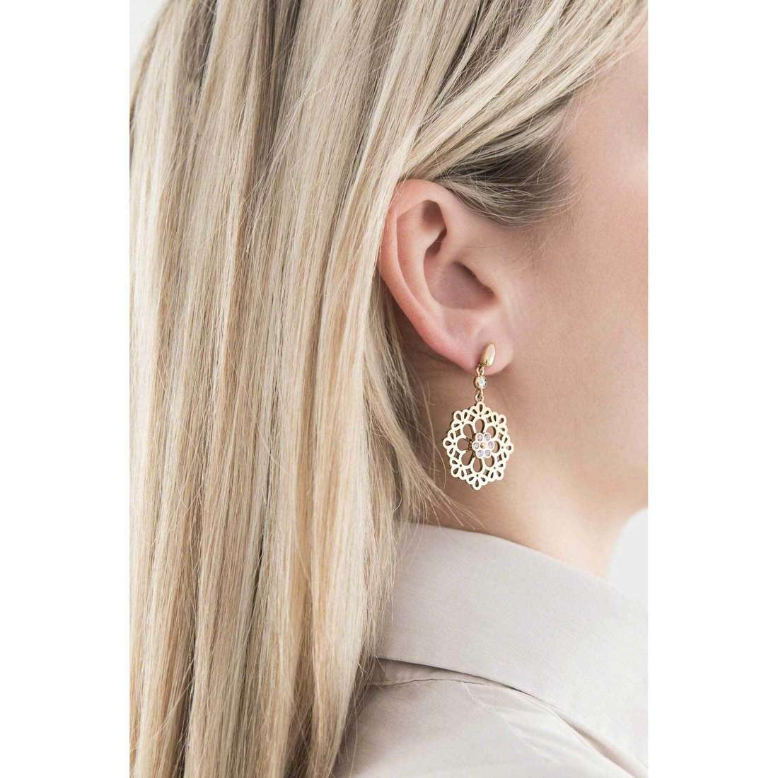Morellato boucles d'oreille Kaleido femme SADY03 indosso