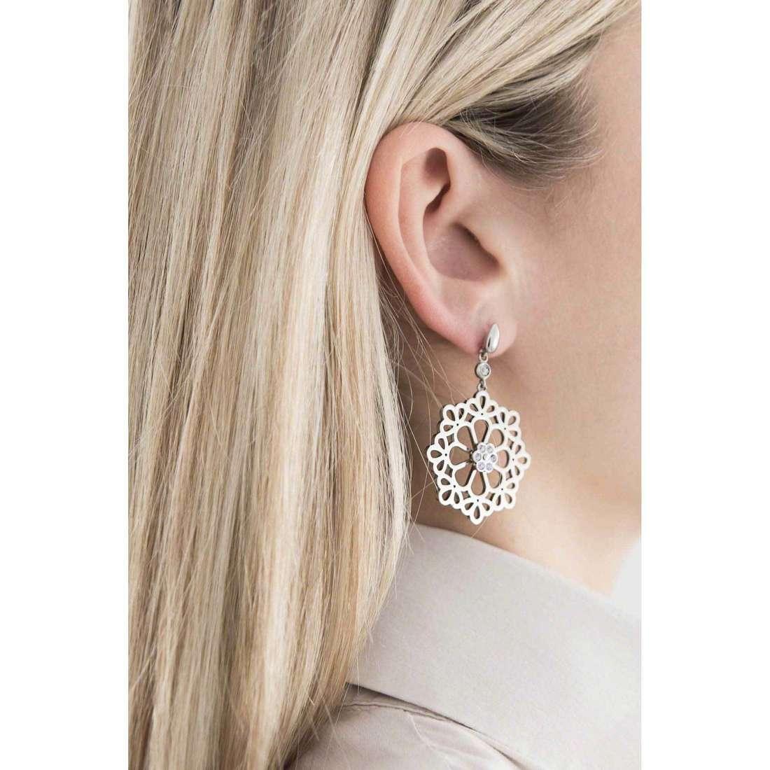 Morellato boucles d'oreille Kaleido femme SADY08 indosso