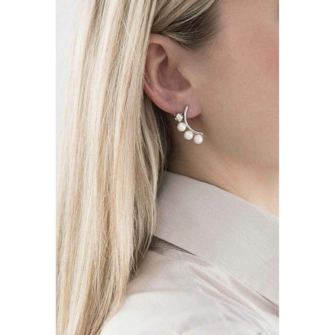 Morellato boucles d'oreille Lunae femme SADX09 indosso