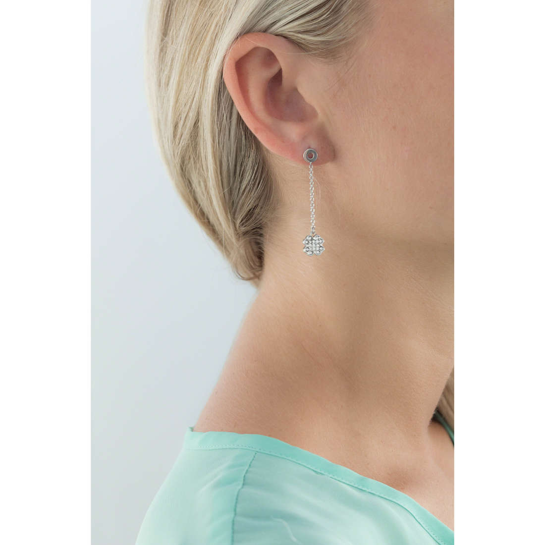 Morellato boucles d'oreille Mini femme SAGG01 indosso