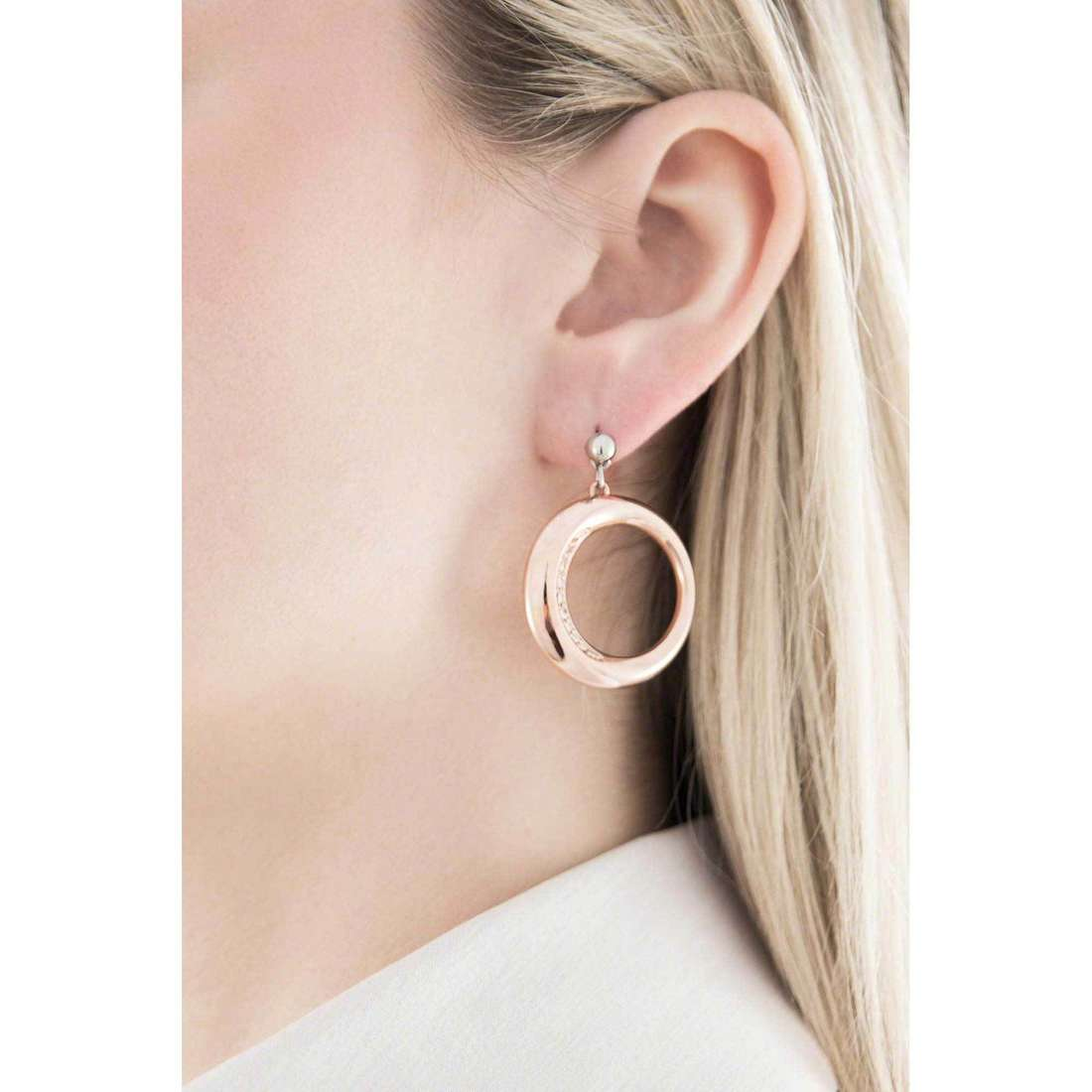 Morellato boucles d'oreille Notti femme SAAH05 indosso
