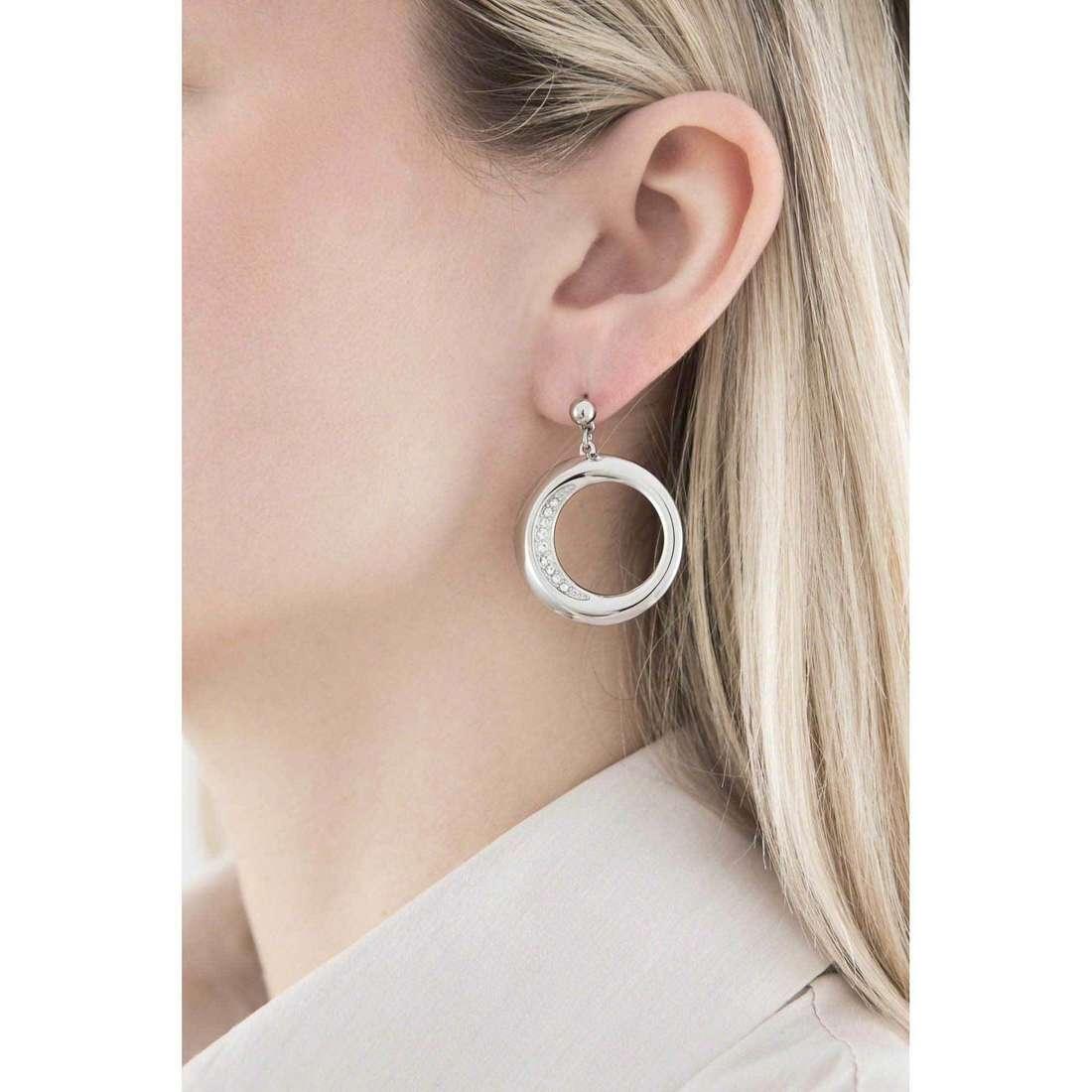 Morellato boucles d'oreille Notti femme SAAH06 indosso