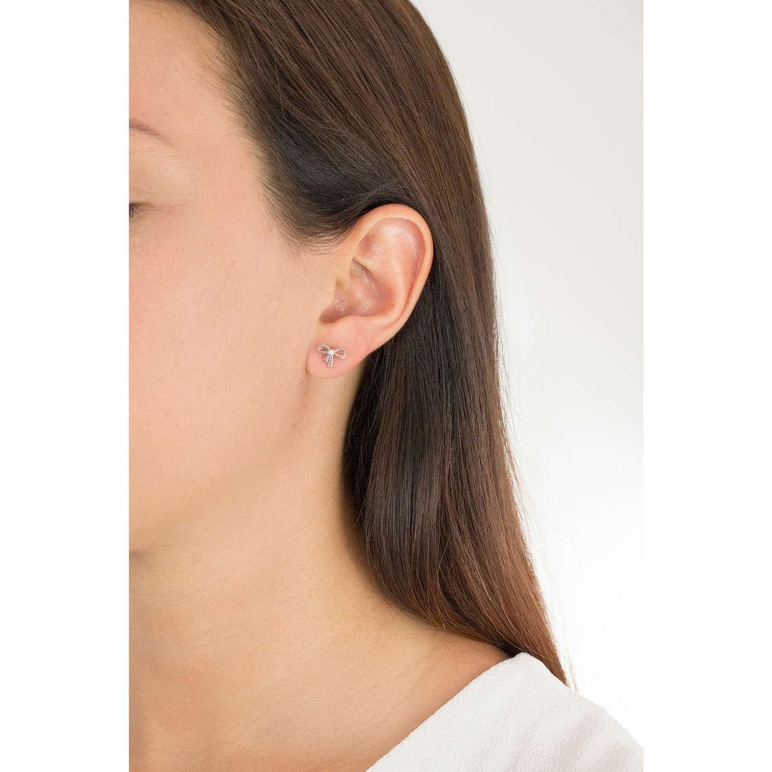 Nomination boucles d'oreille femme 026908/001 photo wearing
