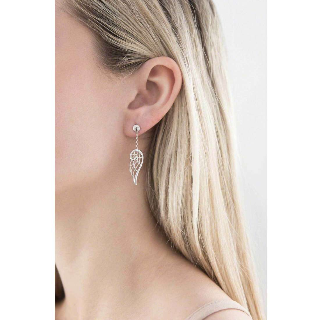 Nomination boucles d'oreille Angel femme 145305/010 indosso