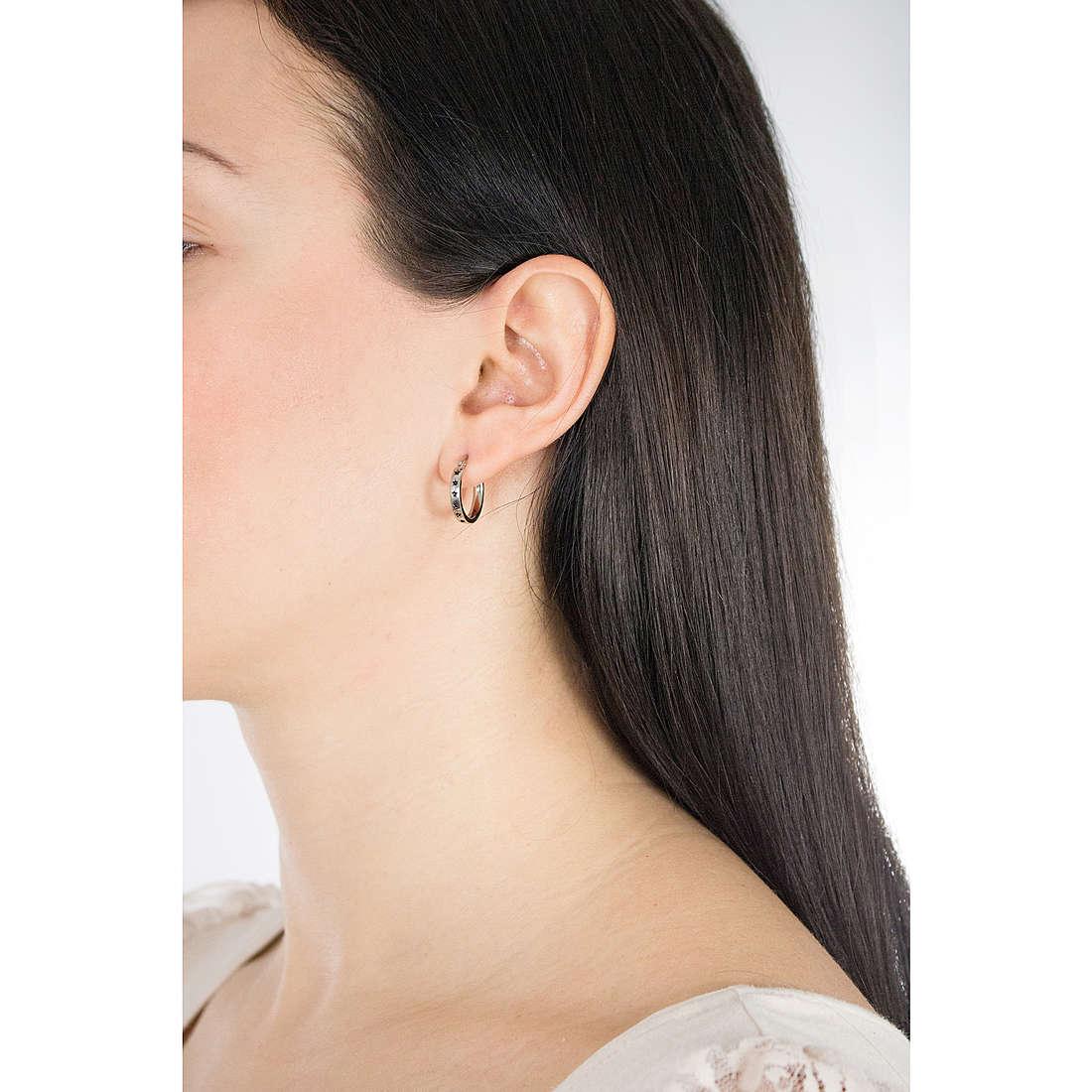 Nomination boucles d'oreille Starlight femme 131509/007 photo wearing