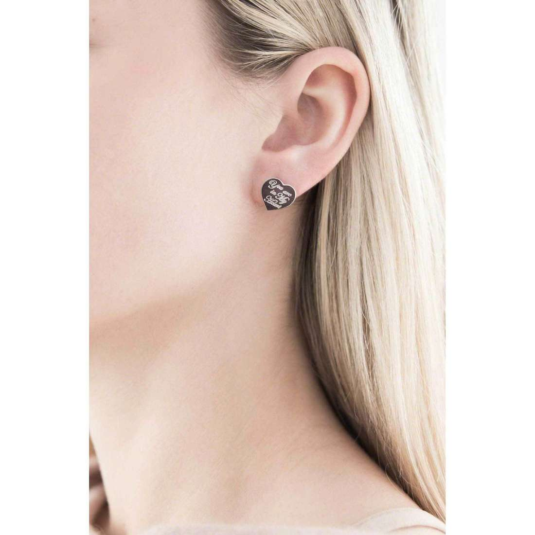Nomination boucles d'oreille Sweetheart femme 026130/014 indosso