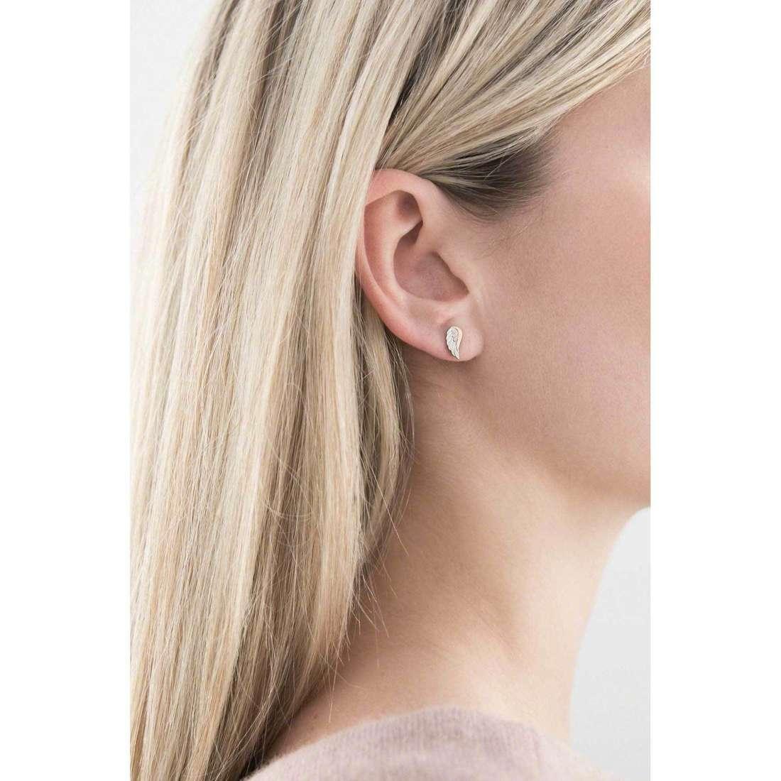 Nomination boucles d'oreille Symphony femme 026250/005 indosso