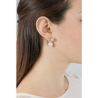 boucles d'oreille femme bijoux Rebecca Hollywood Pearl BHOORR37