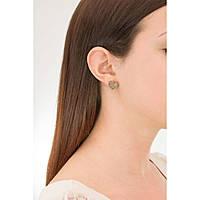 boucles d'oreille femme bijoux Sagapò BUTTERFLY SBF22