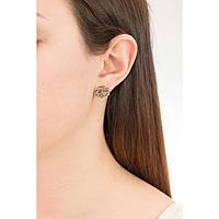 boucles d'oreille femme bijoux Sagapò BUTTERFLY SBF23
