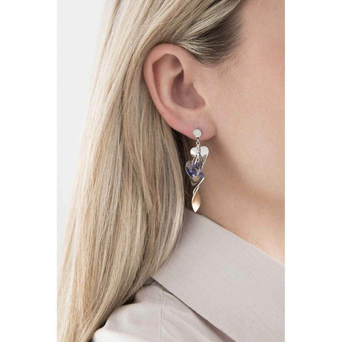 Sagapò boucles d'oreille Drops femme SPS21 indosso