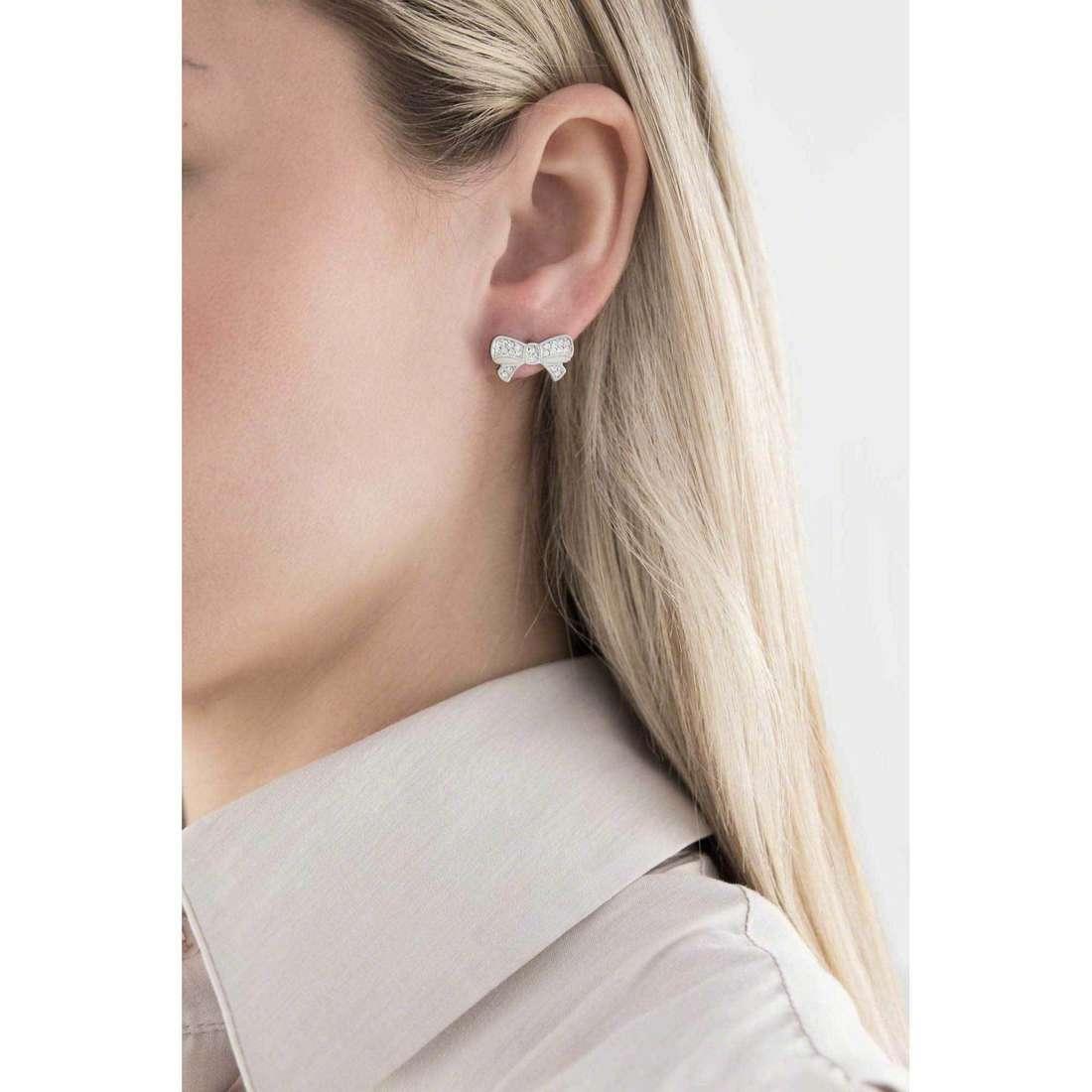 Sagapò boucles d'oreille Fantasia femme SFS22 indosso