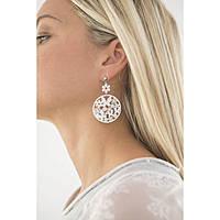 boucles d'oreille femme bijoux Sagapò Flower SFL22